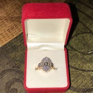 2.74 CT marquise diamond ring